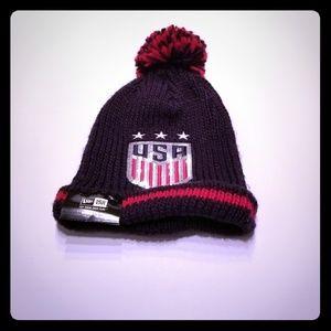 New Era USA Olympics Winter Hat Beanie